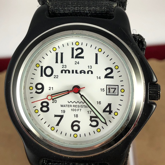 Milan Other - Vintage Milan Design 12 and 24 Hour Dial Watch